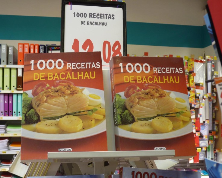 "Bacalhau a ""thousand recipes"" the mind BOOGLES!"
