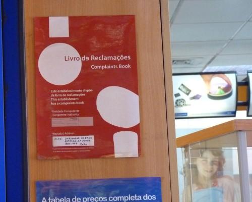 Complaints Book poster