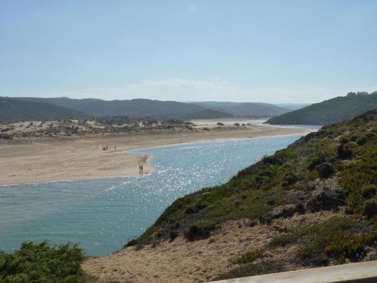 Praia da Amoreira - inland view
