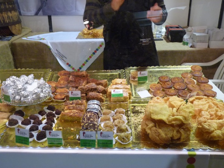 "A wonderful selection of cakes made from ""Batata Doce"""