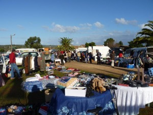 Local Flea Market in Portugal