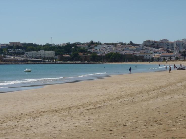 Meia Praia - view to Lagos town