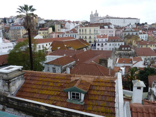 The old quarter of Lisbon