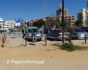 Parking Scams at Amado Beach Portimão!