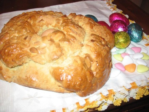 Folar - Portugese Easter Bread