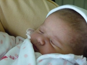 Introducing Lily-May our first grandchild