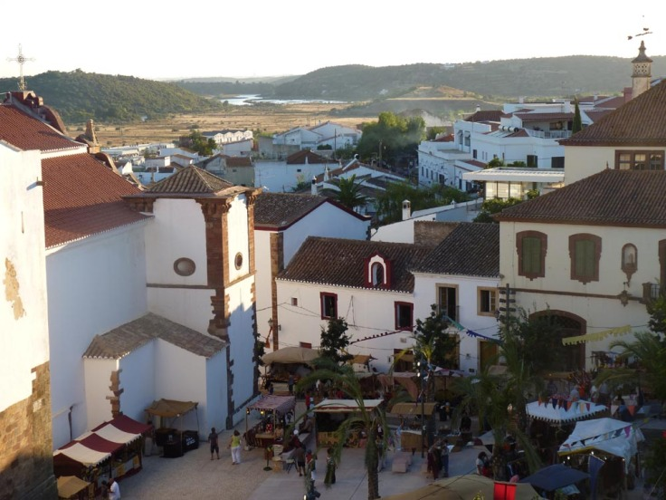 Silves Medieval Fair - View from the Castle