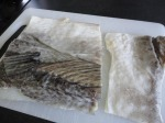 Bacalhau (salted codfish)