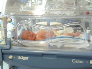 Our latest grandchild less than 24hrs old!