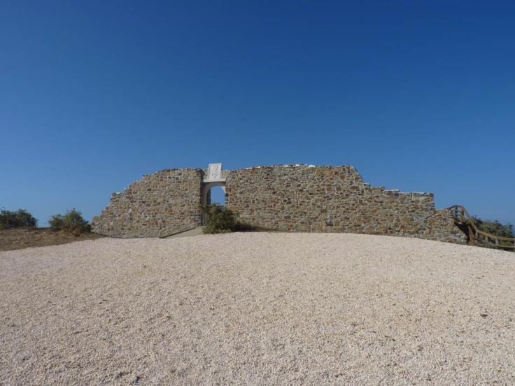Restoration of the 16th Century  Fort of Arrifana  - Miradouro da Antiga Fortaleza da Arrifana