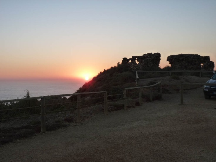 The ancient fort of Arrifana 2009
