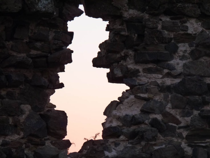 """A """"Window"""" out to sea from the ancient fort of Arrifana"""