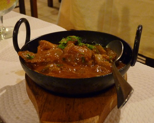 Sizzling Curry