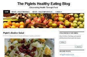 The Piglets Healthy Eating Blog