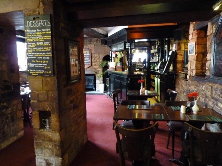 Inside an English Pub