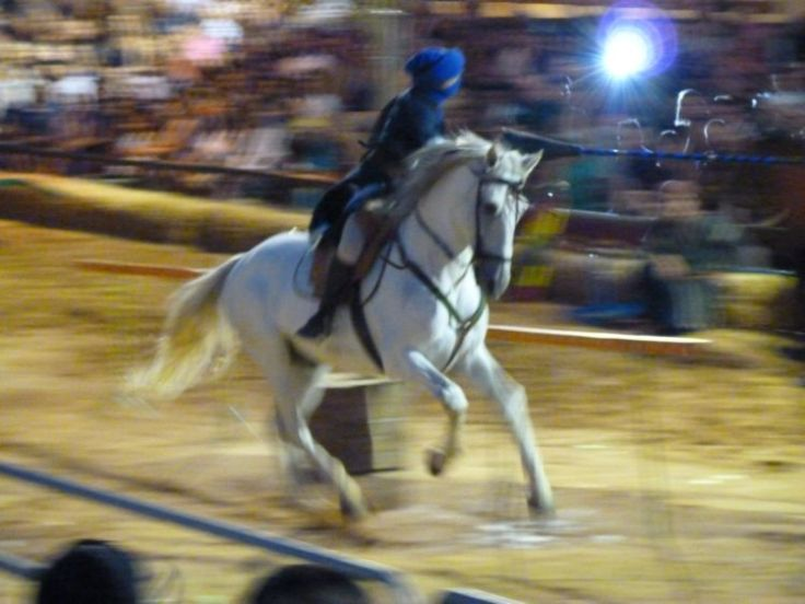 Jousting at Silves Medieval Fair, Algarve - Portugal