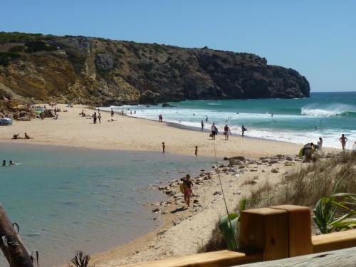 Praia do Zavial - view from Zavial Café/Restaurant