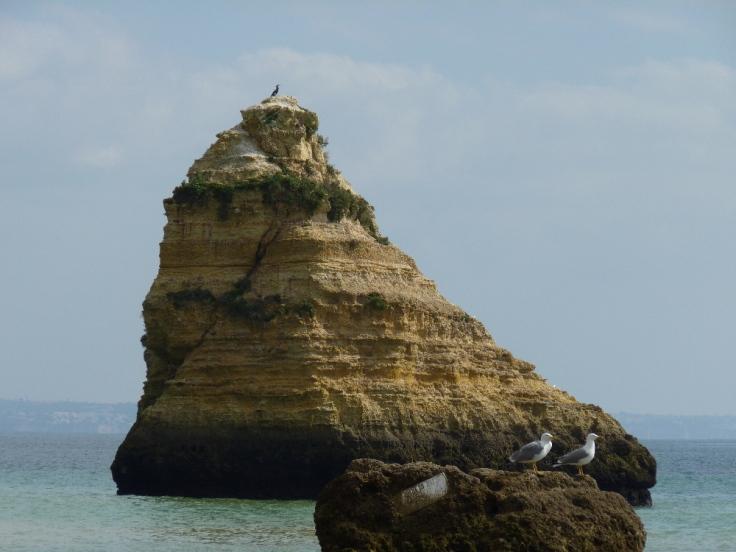 Rocks at Praia da  Anna, Lagos, Portugal