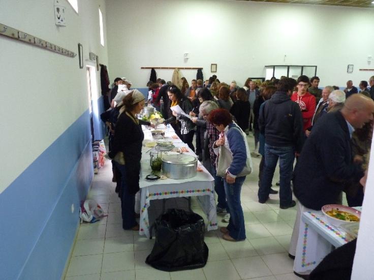 Judging at the Feira da Sopa in Rogil