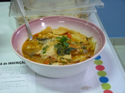 My favourite Sopa do Mar at the Feira da Sopa in Rogil