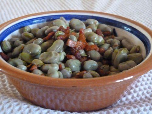 Piglet's Favas Salad