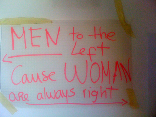Are women always right?
