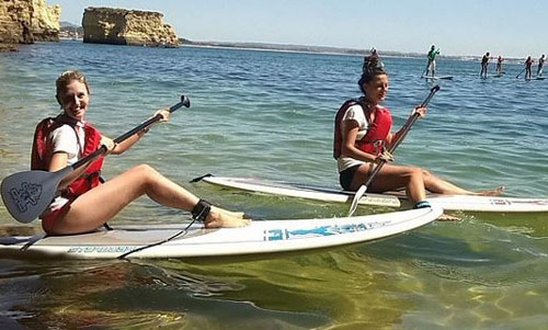 Paddle Boarding with Lagos SUP School