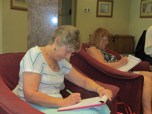 Creative Writing Weekend with Anne Ayler at the Holiday Inn