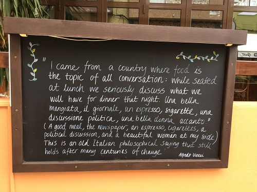 Food for Thought - Ristorante Paesano, Alvor