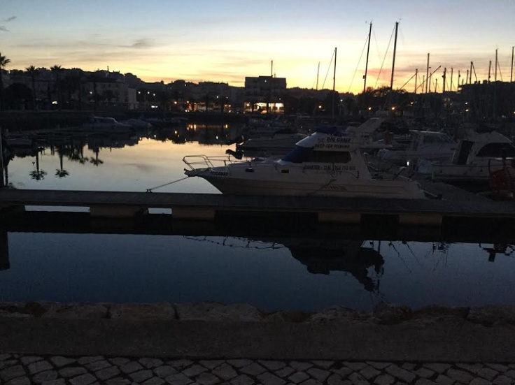 View from Lazy Jacks, Lagos Marina