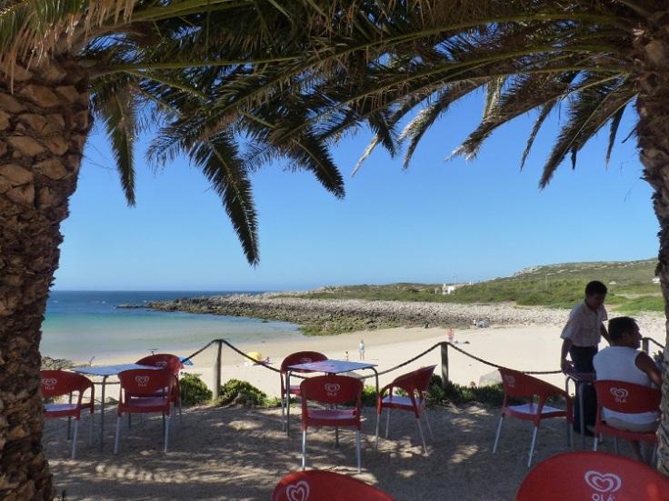 View from Restaurant do Sebastião, Praia da Ingrina