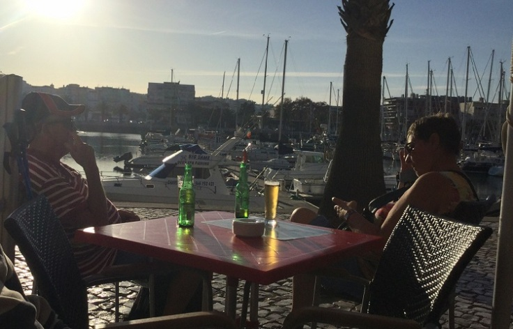 Lazy Jacks at Lagos Marina is the perfect location for a cocktail! December 2015December 2015