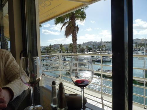 View from our table at Portofino's