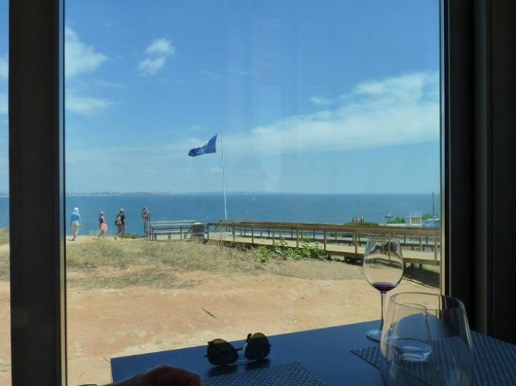 View from restaurante o camilo