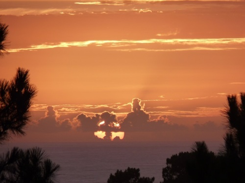 A mystical sunset in Portugal - was it a sign?