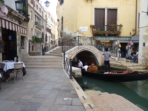 Gondolier - Venice