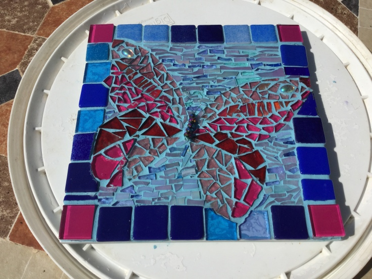 Butterfly Tile - completed