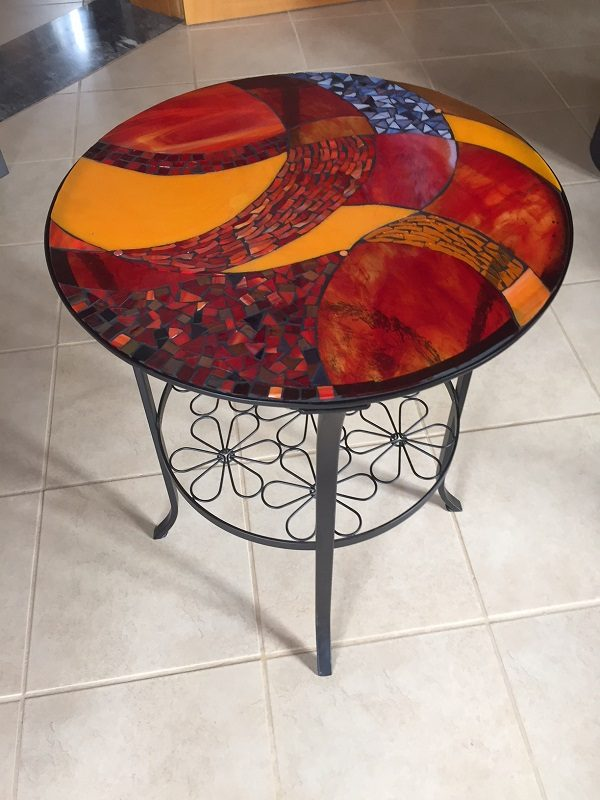 Abstract Mosaic Coffee Table