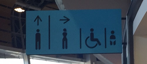 Confusing Toilet Sign