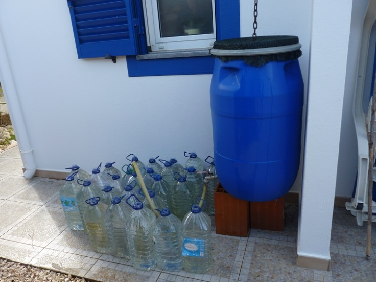 Recycling rainwater for dry days