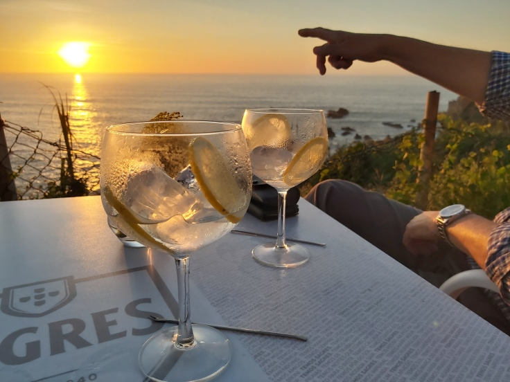 Gin and Tonic sundowner