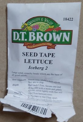 Iceberg 2 Seeds - DT Brown