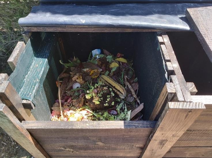 Three bin composter