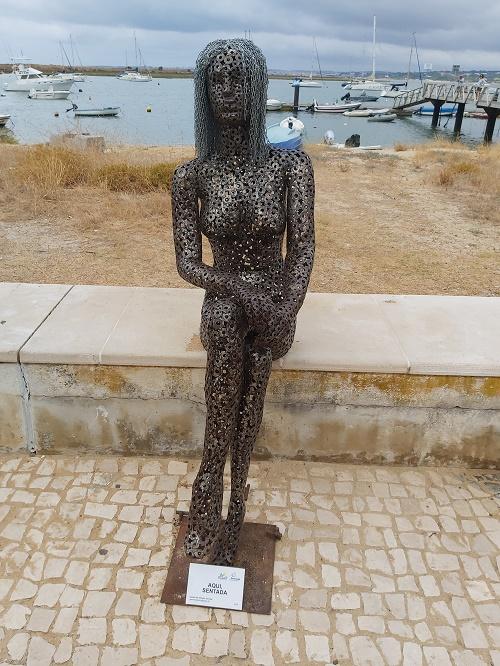 Woman Metal Art Sculpture - Alvor