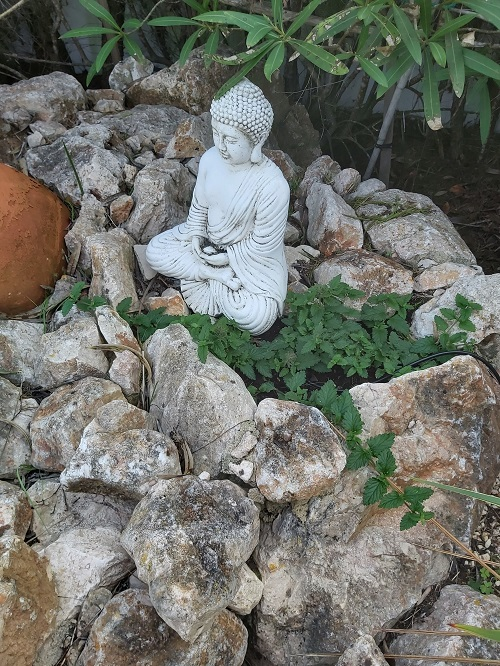 Budda stone statue